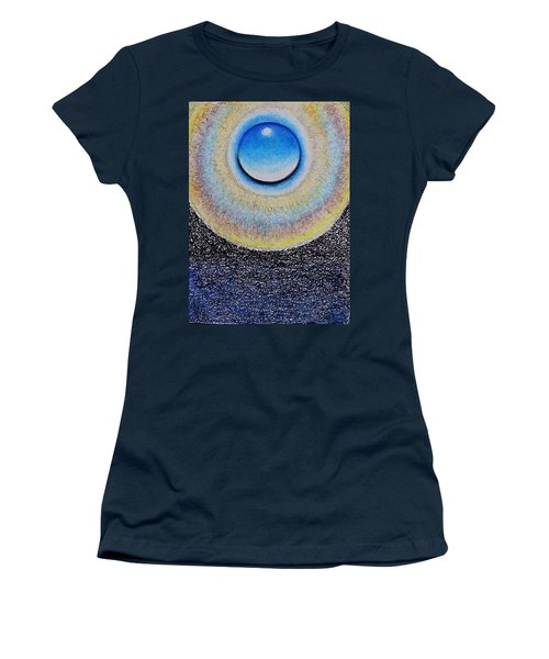 Universal Eye In Blue Women's T-Shirt (Athletic Fit)