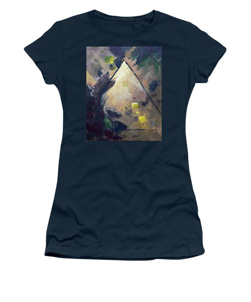 Untitled Abstract 730-17 Women's T-Shirt (Athletic Fit)