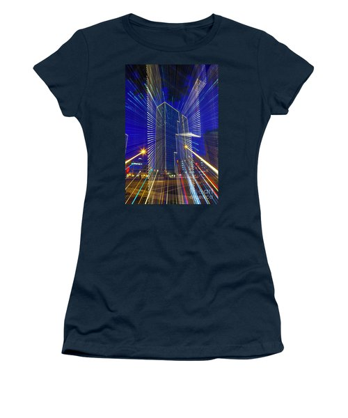 Urban Abstract Women's T-Shirt (Athletic Fit)