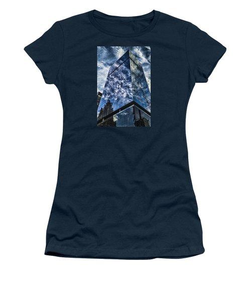 Urban Clouds Reflecting  Women's T-Shirt