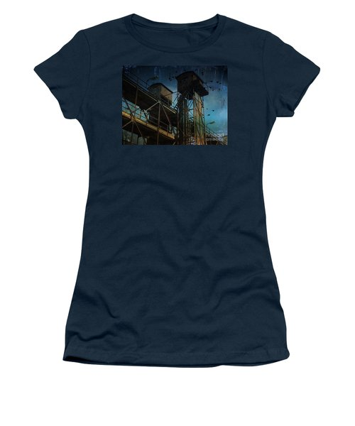 Women's T-Shirt featuring the photograph Urban Past by Ivana Westin