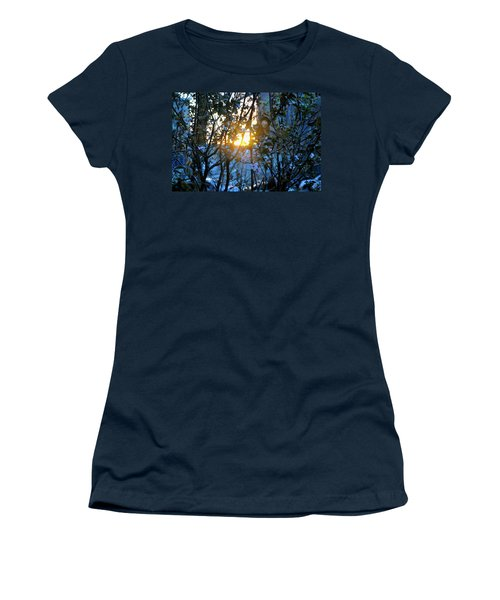 Urban Sunset Women's T-Shirt (Athletic Fit)