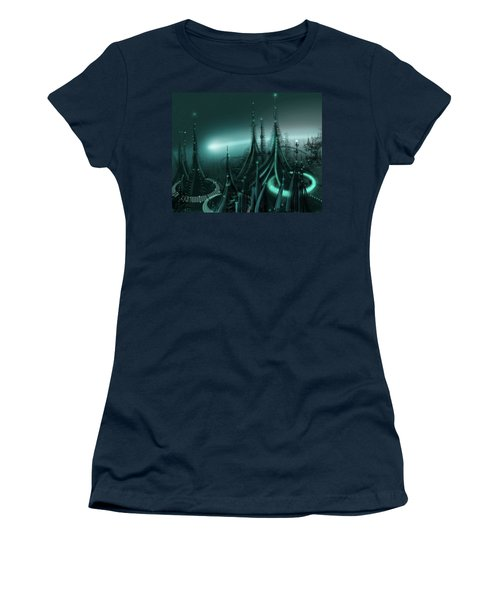 Utopia Women's T-Shirt (Junior Cut) by James Christopher Hill