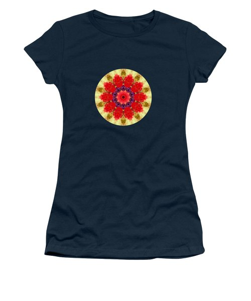 Vase Of Delight-still Life Painting By V.kelly Women's T-Shirt (Athletic Fit)
