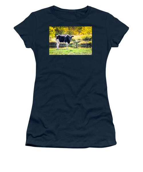 Vermont Farms.01 Women's T-Shirt (Junior Cut) by Craig Szymanski