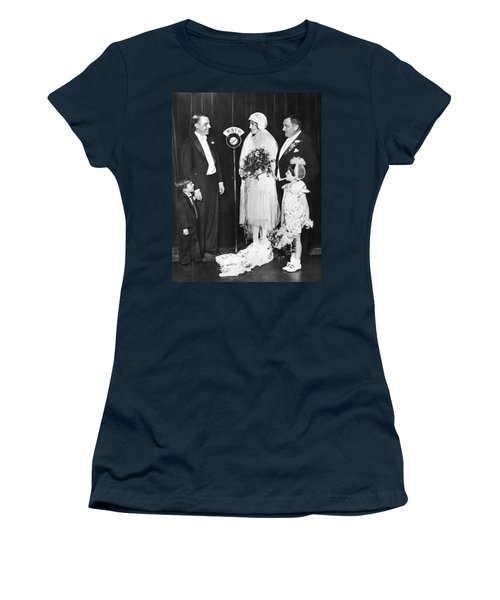 Vfw Wedding Couple Women's T-Shirt