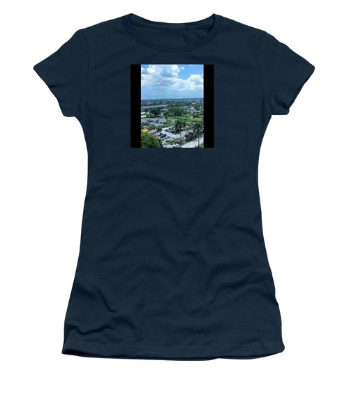 City On The Horizon Women's T-Shirt (Athletic Fit)