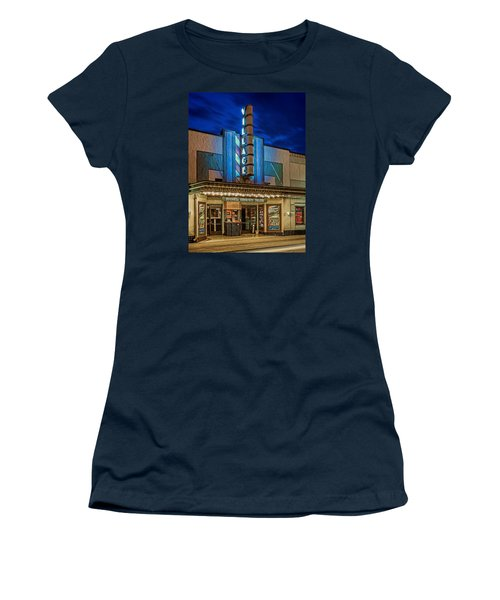 Village Theater Women's T-Shirt (Junior Cut) by Jerry Gammon