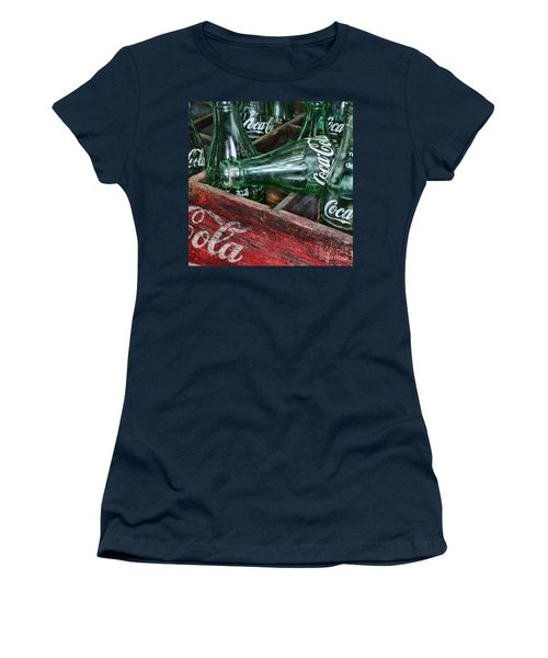Vintage Coke Square Format Women's T-Shirt (Junior Cut) by Paul Ward