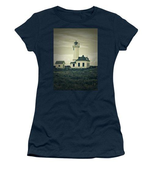 Vintage Lighthouse Monochrome Women's T-Shirt