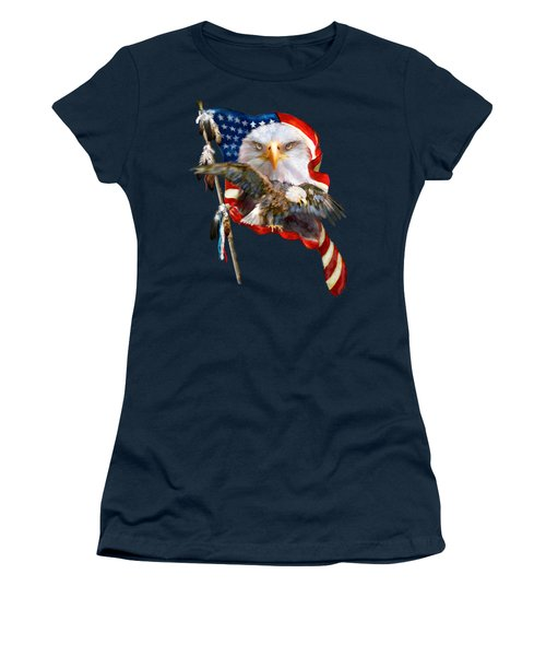 Vision Of Freedom Women's T-Shirt (Athletic Fit)