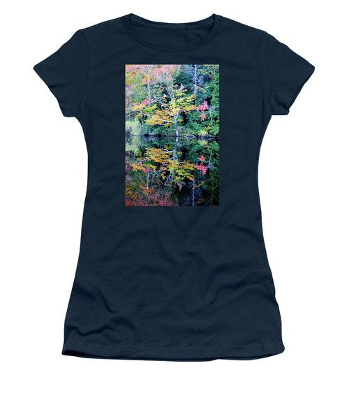 Vivid Fall Reflection Women's T-Shirt