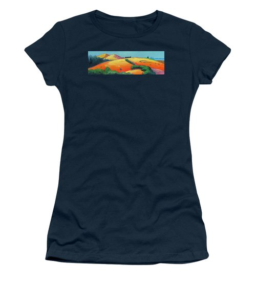 Voluptuous Windy Hill Women's T-Shirt (Junior Cut) by Gary Coleman