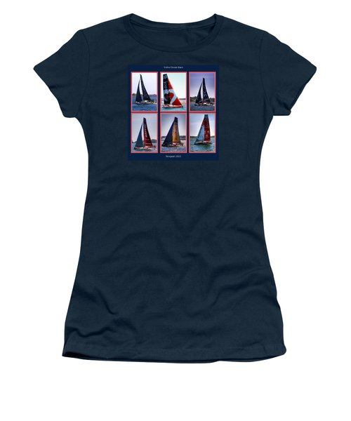 Volvo Ocean Race Newport 2015 Women's T-Shirt (Athletic Fit)
