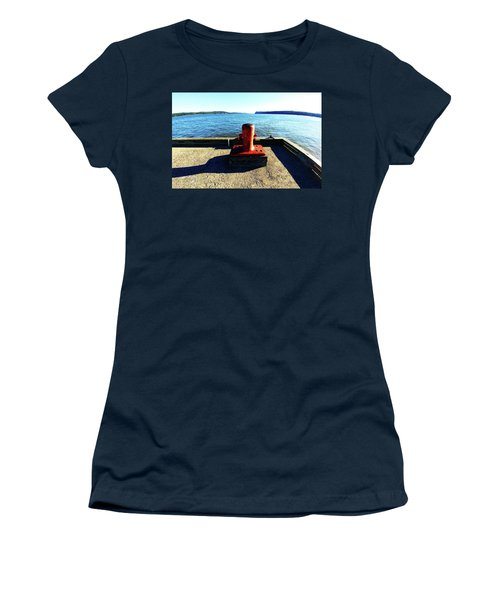 Waiting For The Ship To Come In. Women's T-Shirt