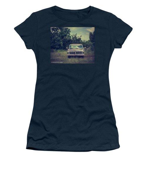 Waiting To Die Women's T-Shirt (Junior Cut) by Stefanie Silva