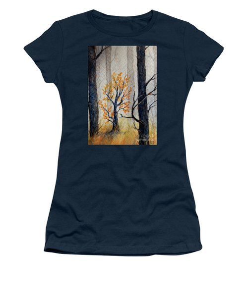 Warmth In Winter Women's T-Shirt (Athletic Fit)