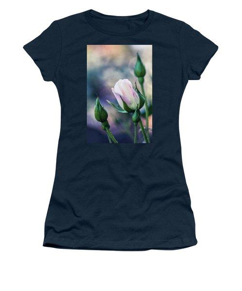 Watercolor Rose Women's T-Shirt