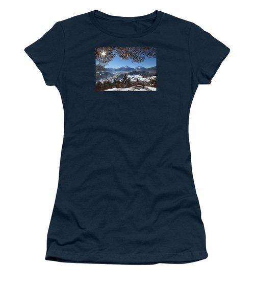 Watzmann Panorama 1 Women's T-Shirt (Athletic Fit)
