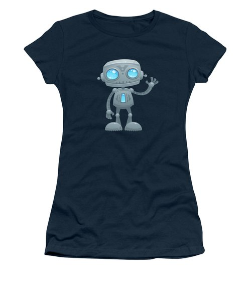 Waving Robot Women's T-Shirt