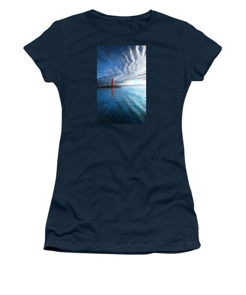 We Wait Women's T-Shirt (Junior Cut) by Phil Koch