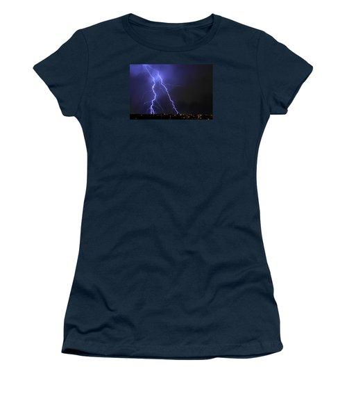 West Jordan Lightning 1 Women's T-Shirt (Athletic Fit)