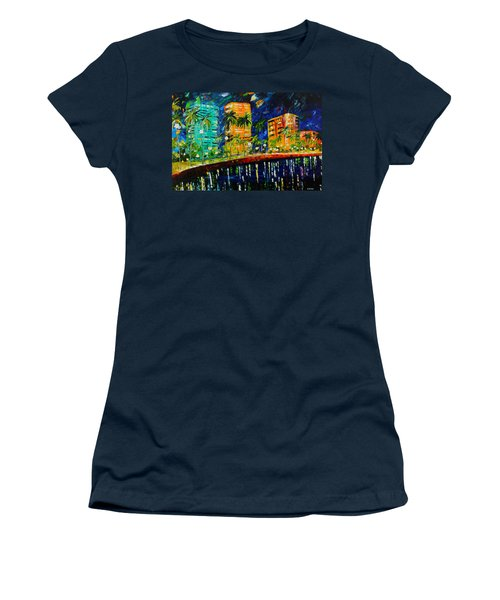 West Palm At Night Women's T-Shirt