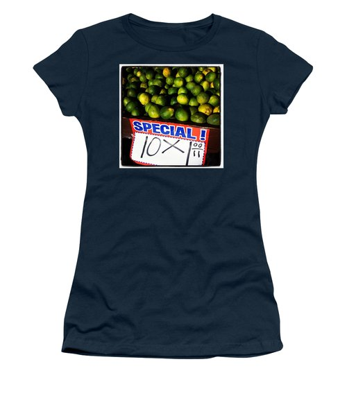 Women's T-Shirt featuring the photograph What Lime Shortage? #dontbelievethehype by Mr Photojimsf