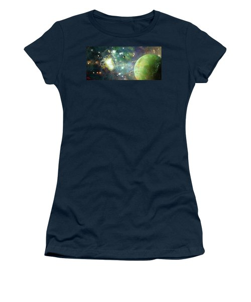 What's Out There Women's T-Shirt (Athletic Fit)
