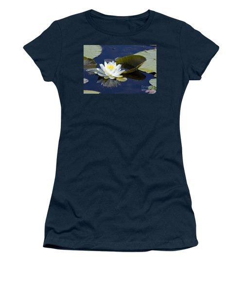 White Waterlily Women's T-Shirt
