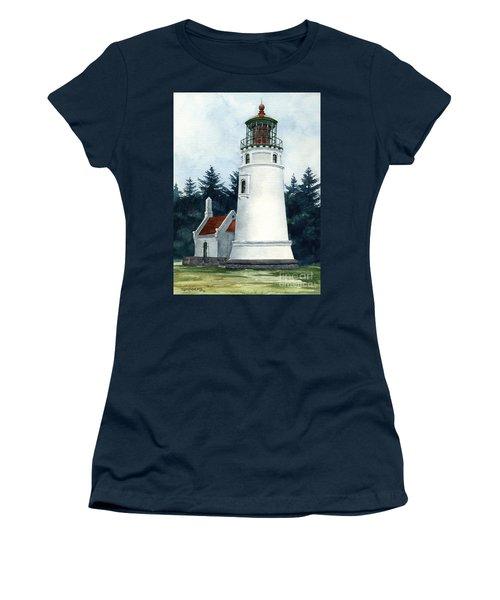 Winchester Bay Lighthouse Women's T-Shirt