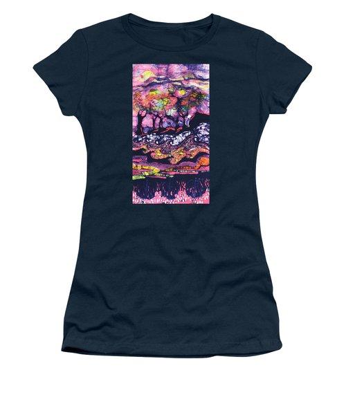 Wind And Waves Women's T-Shirt (Junior Cut)