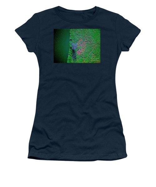 Wind Blown Marsh Tree And Water Women's T-Shirt