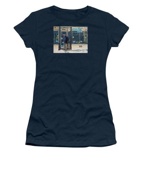 Winter In The City Women's T-Shirt