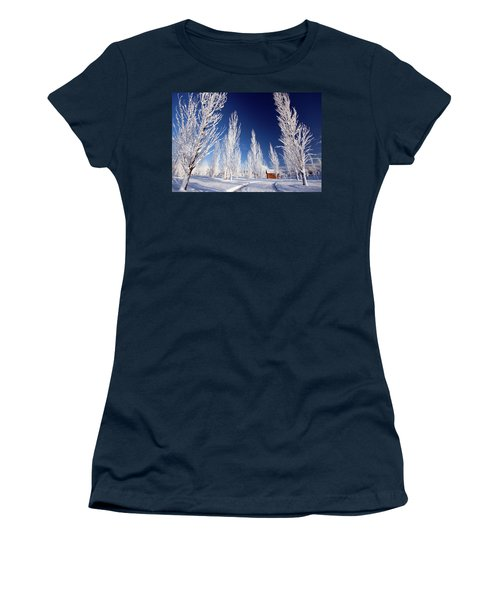 Winter Landscape Women's T-Shirt