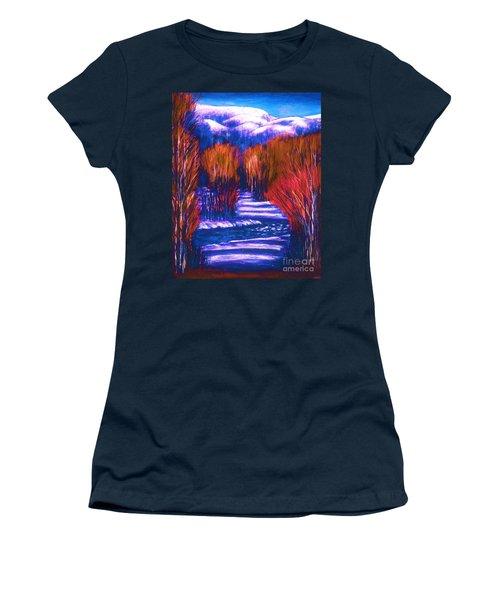 Winter Shadows  Women's T-Shirt (Junior Cut)