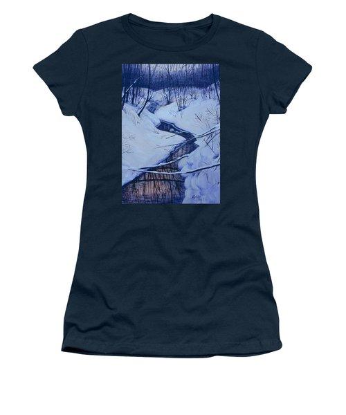 Winter's Stream Women's T-Shirt