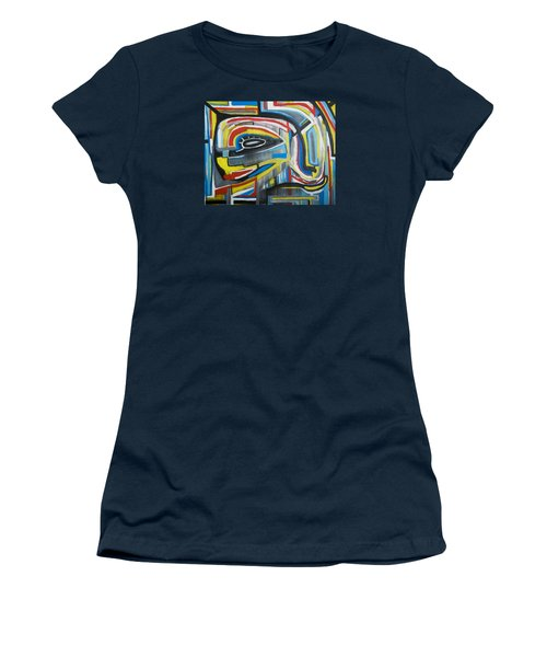 Wired Dreams  Women's T-Shirt (Athletic Fit)