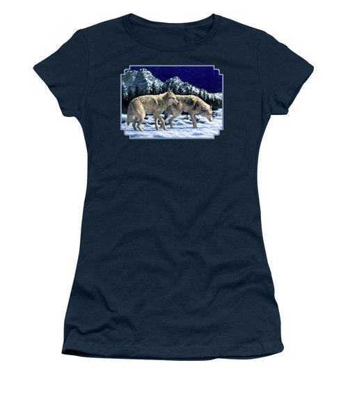 Wolves - Unfamiliar Territory Women's T-Shirt