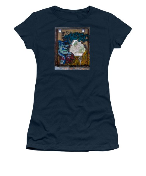 Wompatuck Graffiti Man Women's T-Shirt