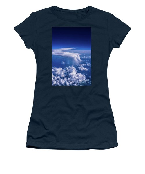 Writing In The Sky Women's T-Shirt