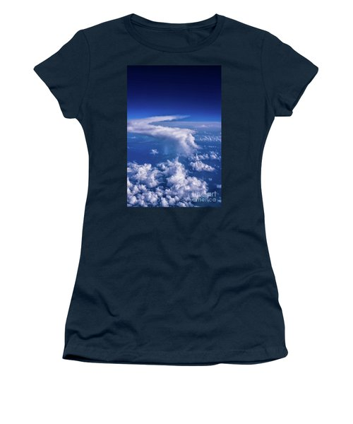 Writing In The Sky Women's T-Shirt (Athletic Fit)