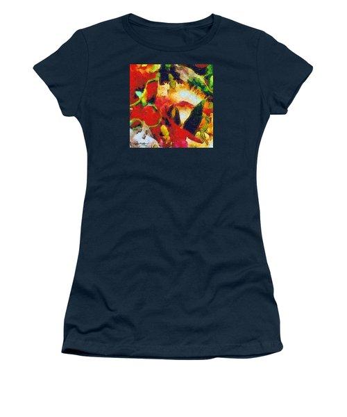 Xtreme Floral Four Women's T-Shirt (Athletic Fit)