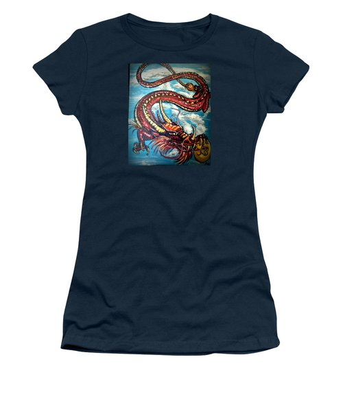Year Of The Dragon Women's T-Shirt (Athletic Fit)