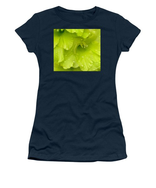 Yellow Gladiola Refreshed Women's T-Shirt