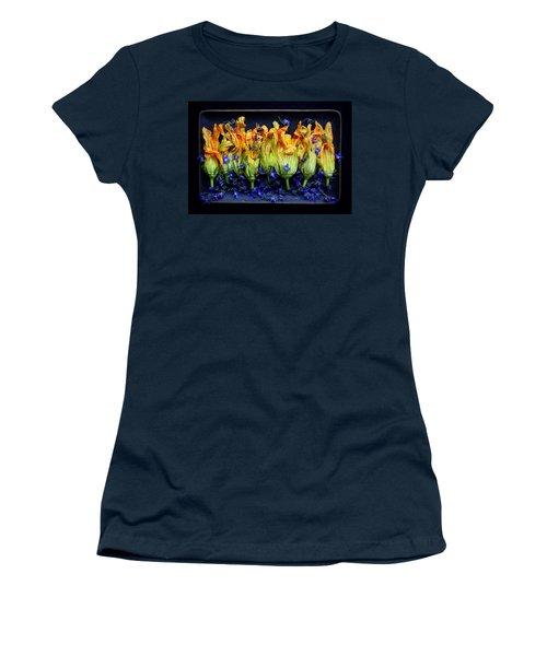 Zucchini Flowers Women's T-Shirt