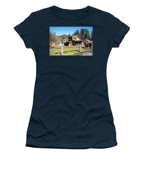 Glacier Coffee Shop Women's T-Shirt