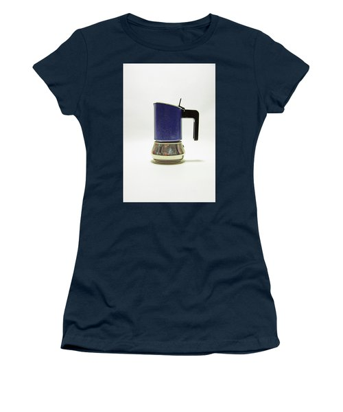 10-05-19 Studio. Blue Cafetiere Women's T-Shirt