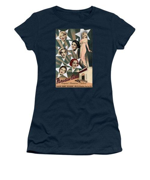1943 Paradise Girls Cabaret Nyc Women's T-Shirt