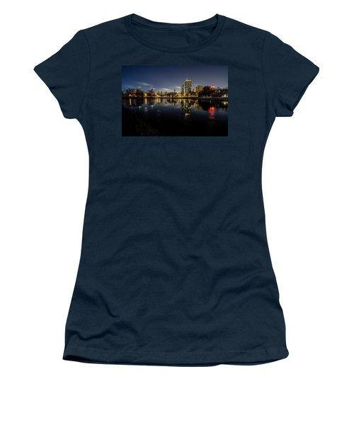 Chicago Skyline At Dawn  Women's T-Shirt